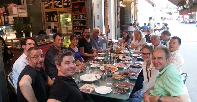 IMMF Dinner at Midem 2015