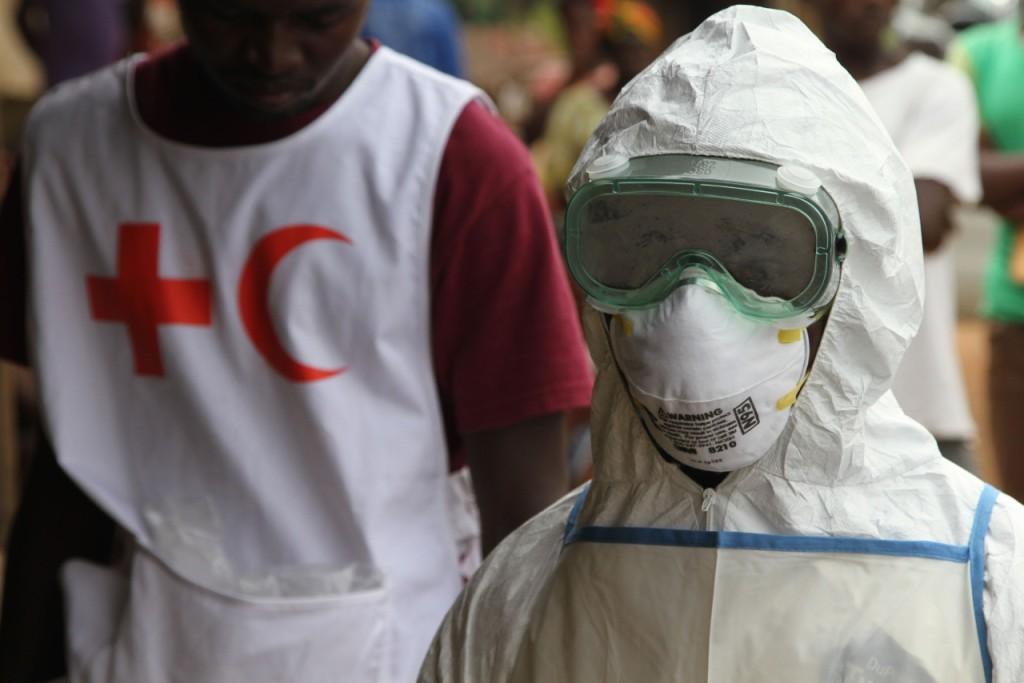 Ebola Training Copyright Katherine Mueller IFRC