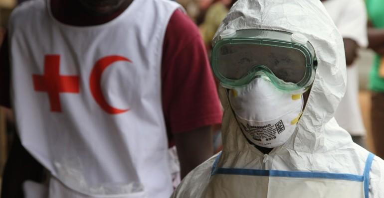 Ebola Training Copyright IFRC Katherine Mueller