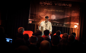 Keith at Sonic Visions